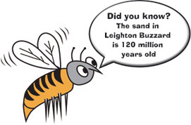 leighton buzzard sand is 120 million years old